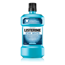 LISTERINE<sup>®</sup> STAY WHITE