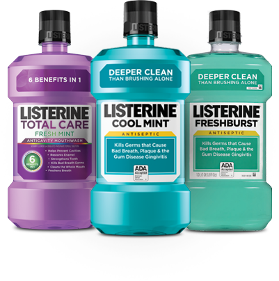 LISTERINE<sup>&reg;</sup> Products